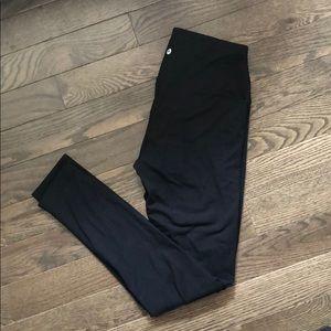90 degree high waisted black leggings